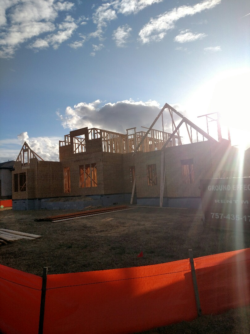 Suffolk, VA - New construction home for sale update