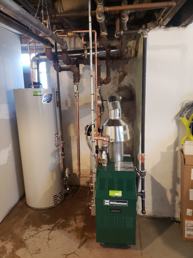 Booker and water heater