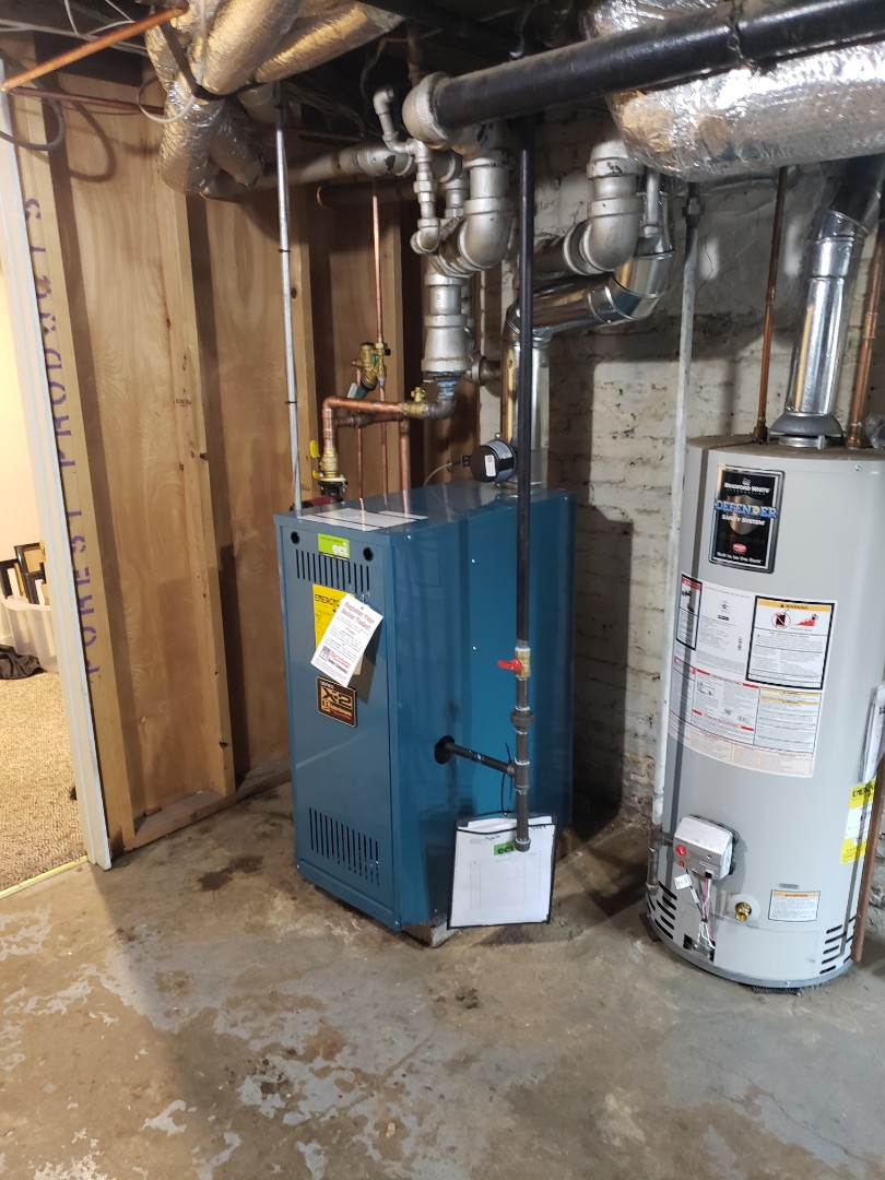 Narberth, PA - Oil to gas Boiler conversion