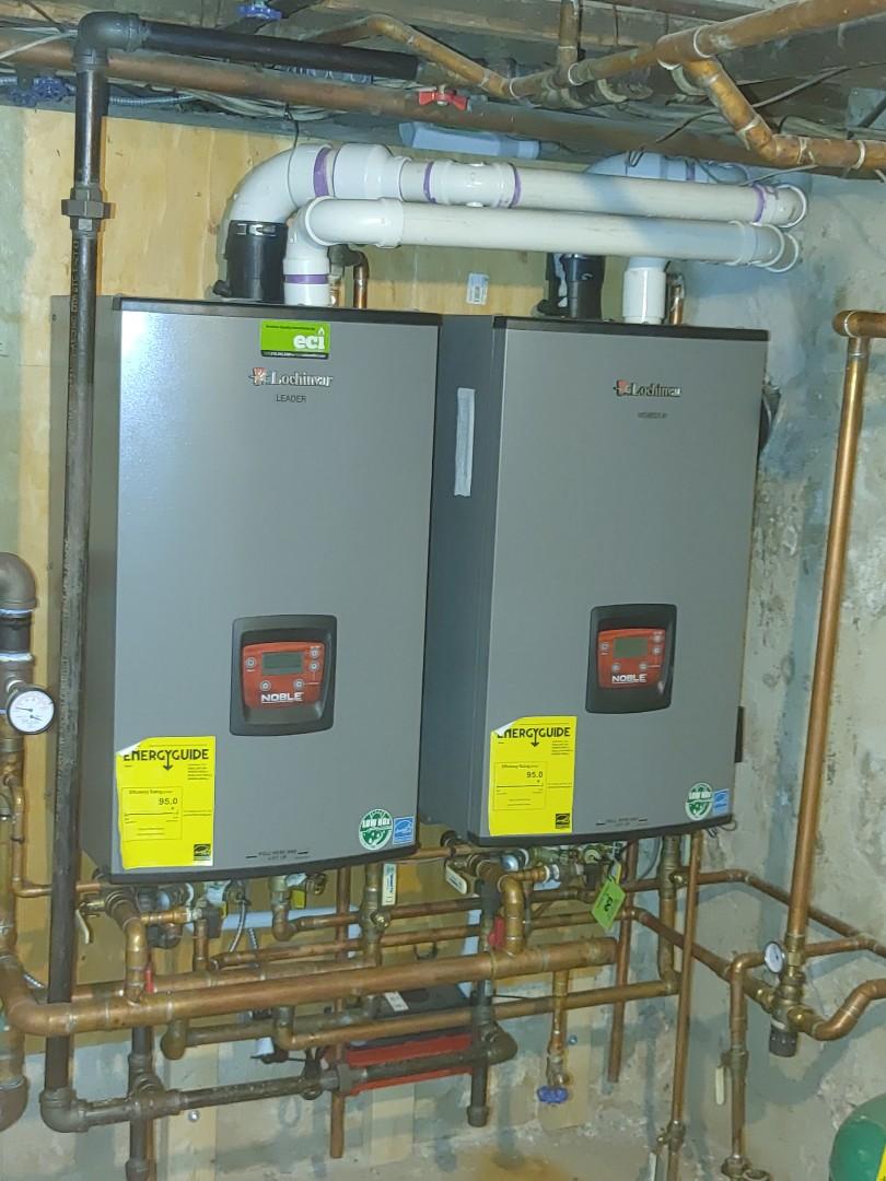 Replaced Recall gasket kit on lochivar N150 for flue pipe sensirs