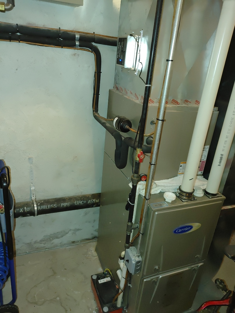 Replacement of 3 Air Scrubbers cells
