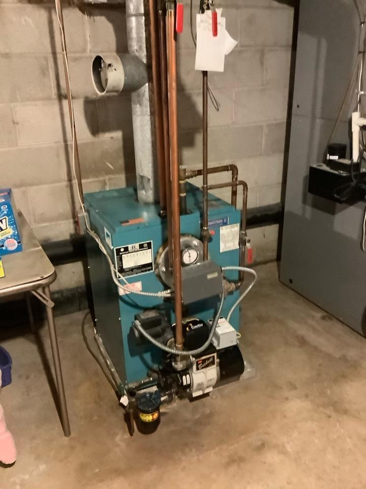 Performed oil boiler tune up on a CWL model.