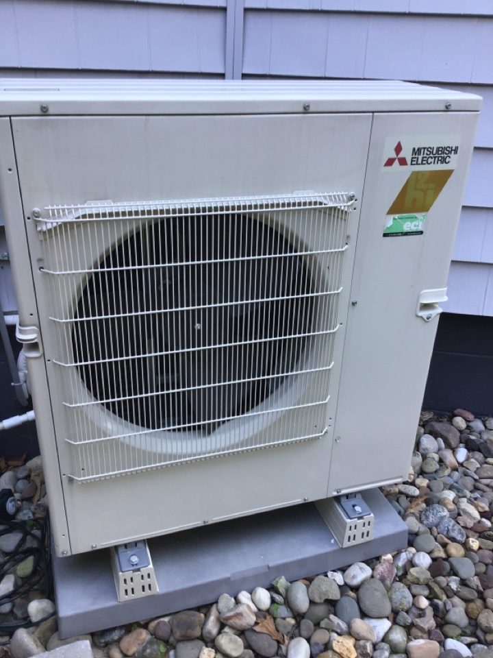 Performed ductless split tune up with an extra head.