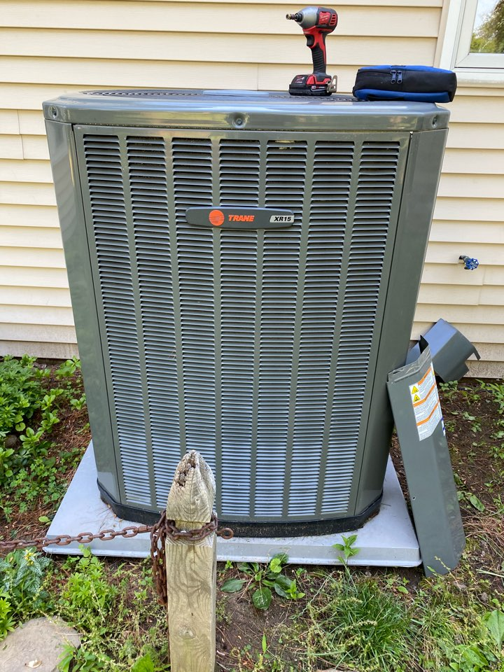 Performed AC tuneup on Trane system