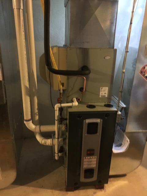 North Wales, PA - Install 2 Trane HVAC, Air and Heat systems in home in North Wales, PA