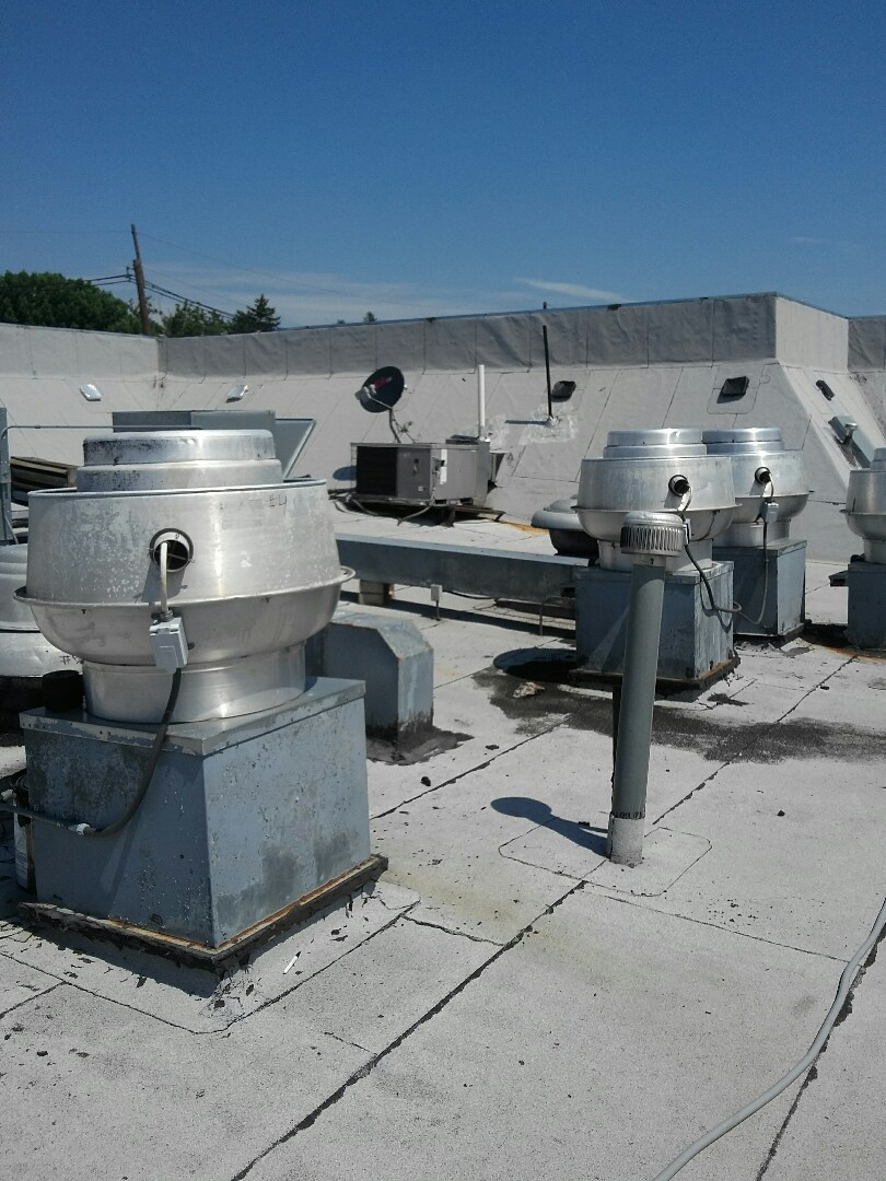 Burlington, NJ - Rooftop ventilation system tune up