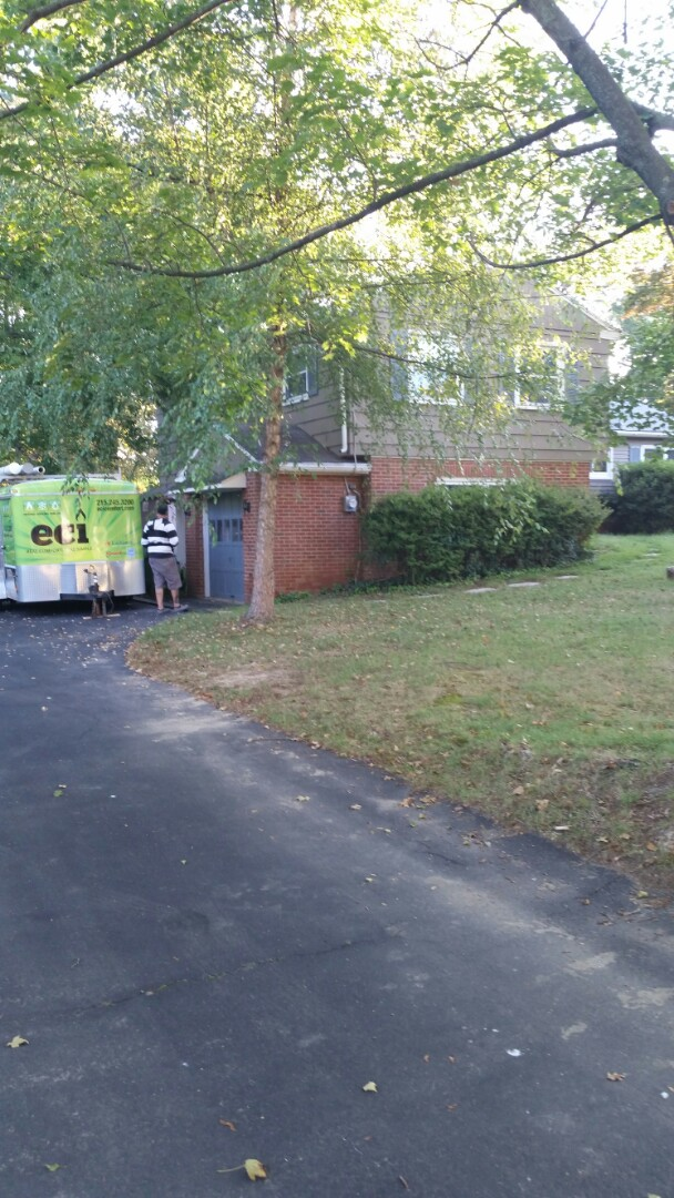North Wales, PA - Putting in a new gas fired system new ductwork and gas line