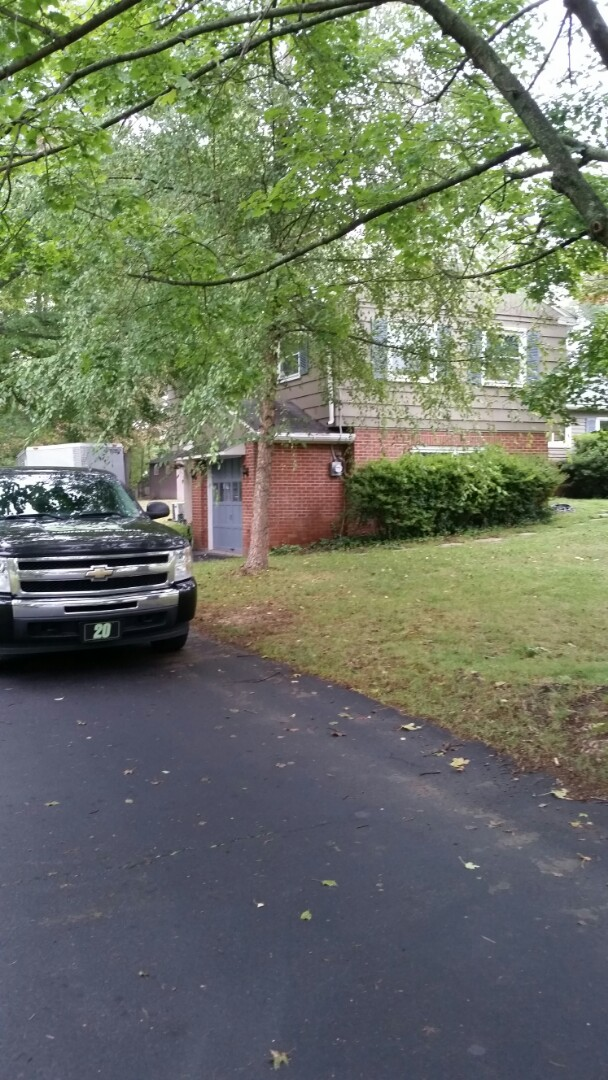 North Wales, PA - One more day after today and will be done installing central air and heating with all duct work