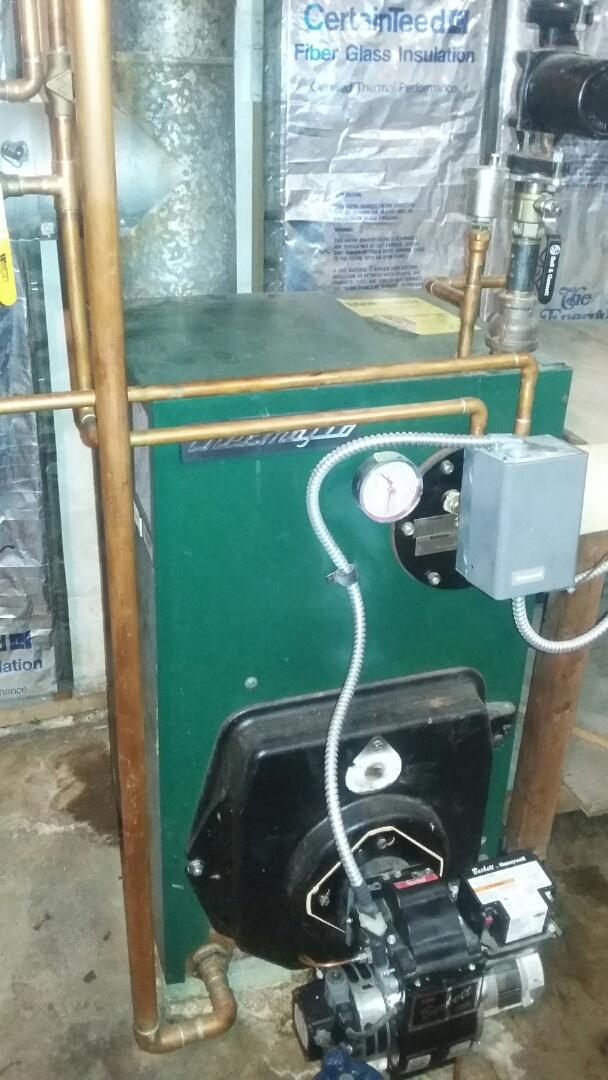 Thermoflo oil boiler tune up