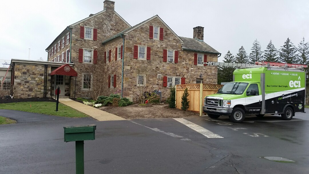 Ambler, PA - New professional installed 3 ton heat pump with ductwork