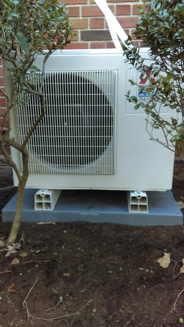 Lower Moreland Township, PA - Ductless split air conditioning system tune-up and preventive maintenance also a tune-up and preventive maintenance on the Unico air conditioning system