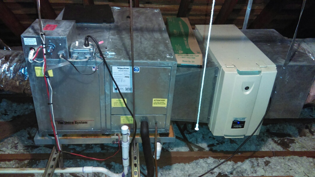 Air conditioning system tune-up and preventive maintenance Unico air conditioning system air conditioning service