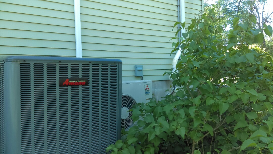 New Britain, PA - Mitsubishi ducted air-conditioning system tune-up and preventive maintenance Amana tune-up and preventive maintenance air conditioning system service