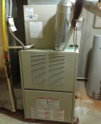 Warrington, PA - Air conditioning tune-up and preventive maintenance and also a carrier gas furnace certification for the heater