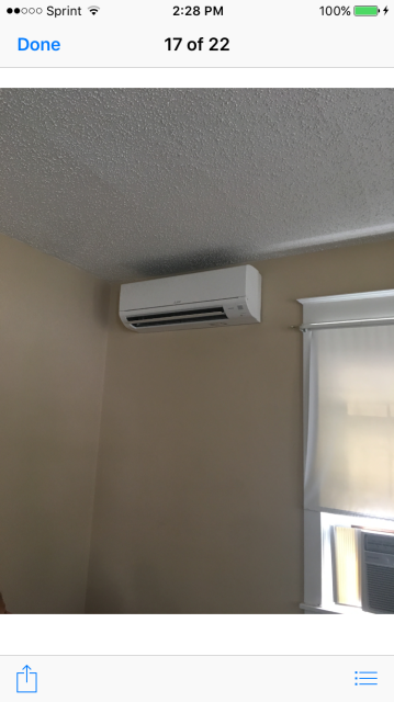 Install new Mitsubishi Ductless 3 zoned system for heating and cooling in Havertown