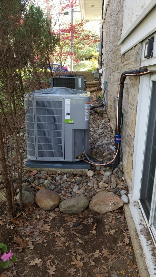 Wyncote, PA - Carrier Air Handler And A/C Swap Out