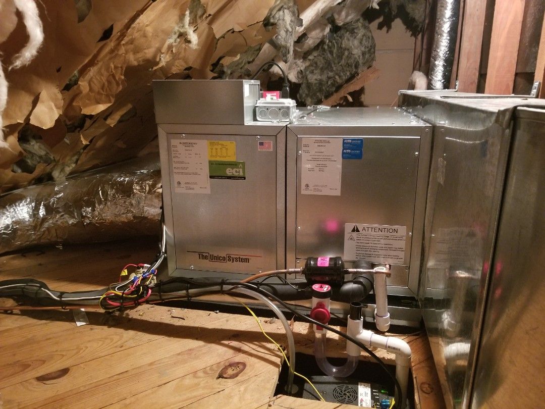 Willow Grove, PA - 4 ton unico swap out woth cartier condenser