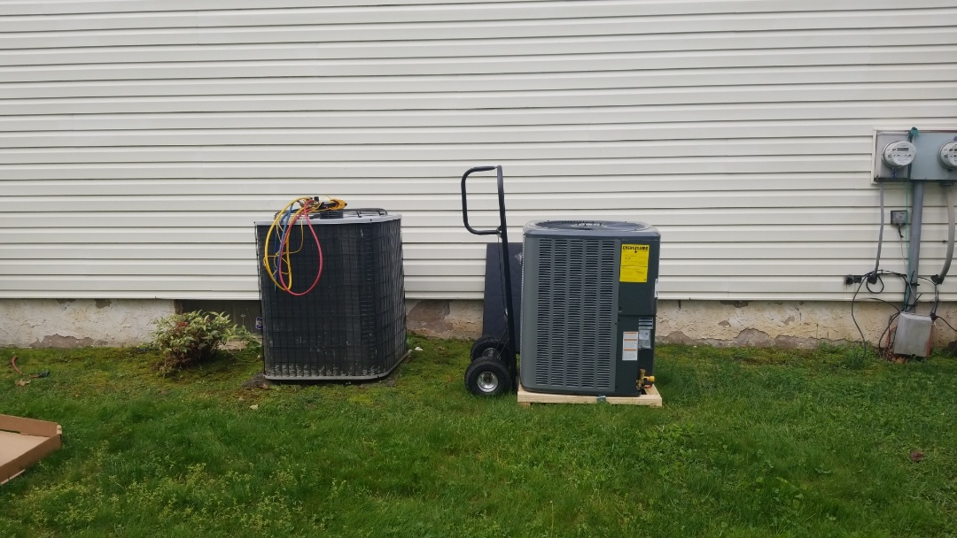 Richboro, PA - Amana Coil Condenser Swap out