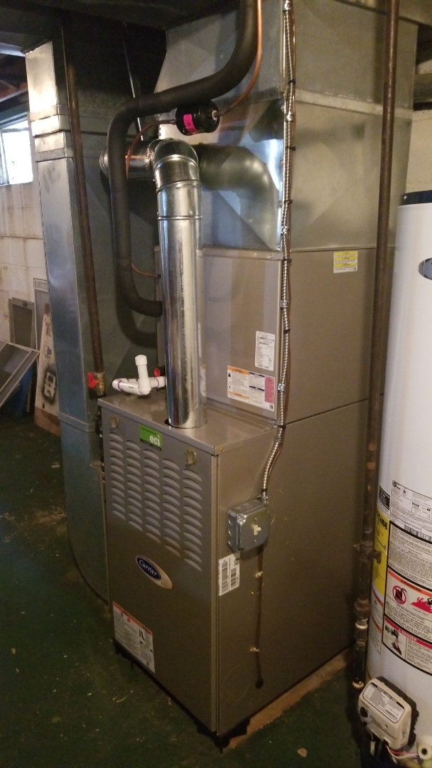 Fairless Hills, PA - CARRIER Furnace Coil Condenser Swap Out