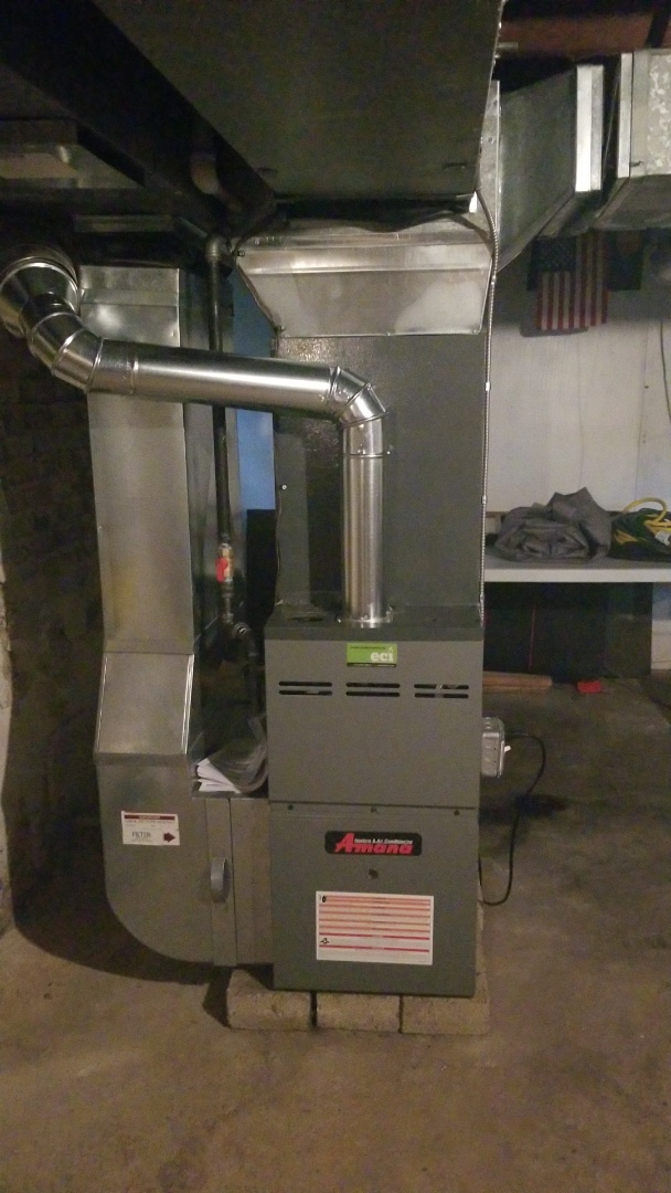 Glenside, PA - 80 coil condenser and ductwork