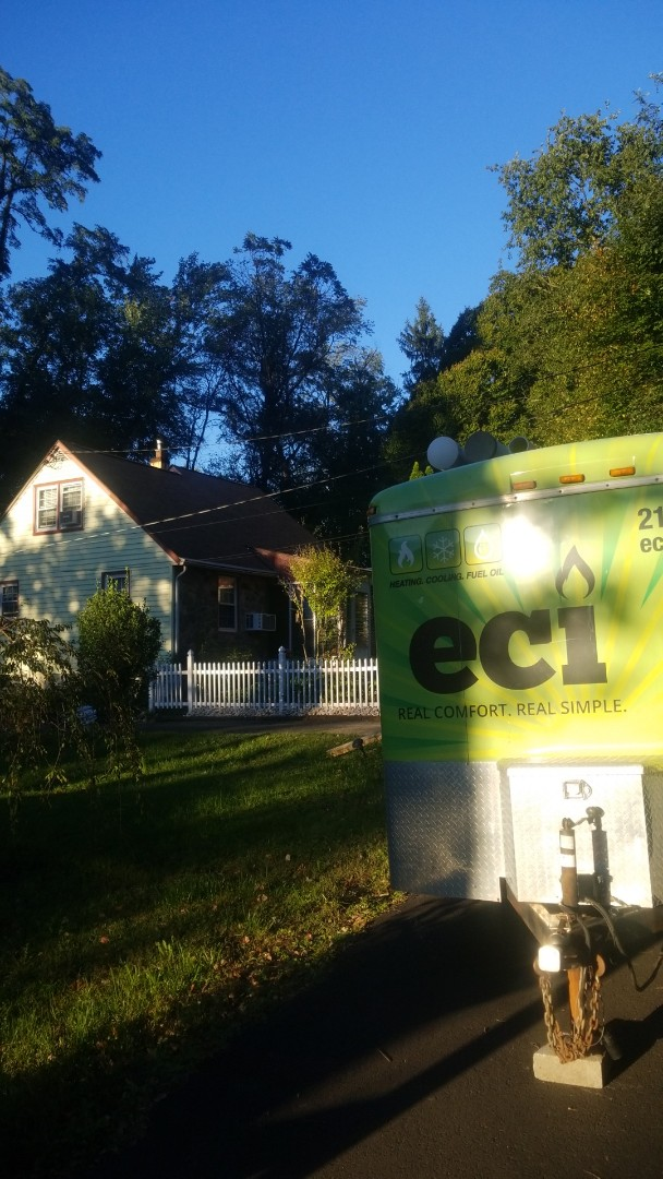 Andalusia, PA - Finished installing a Energy Kinectics oil boiler.