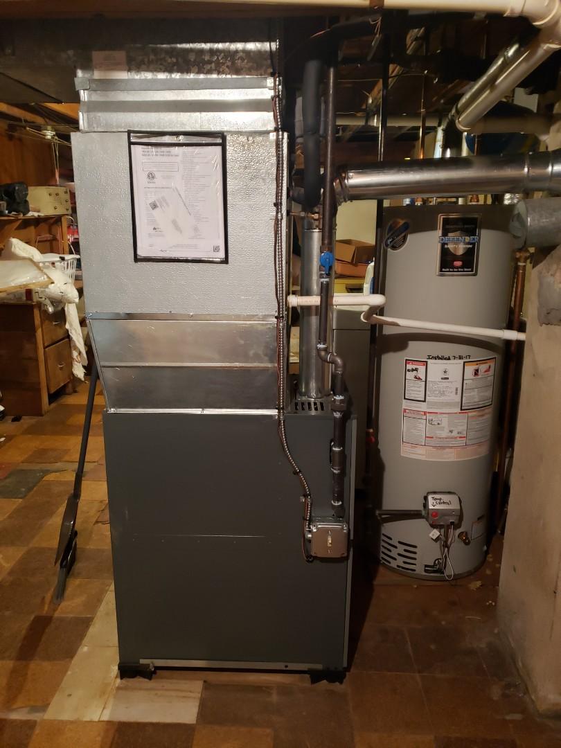 Willow Grove, PA - Amana furnace