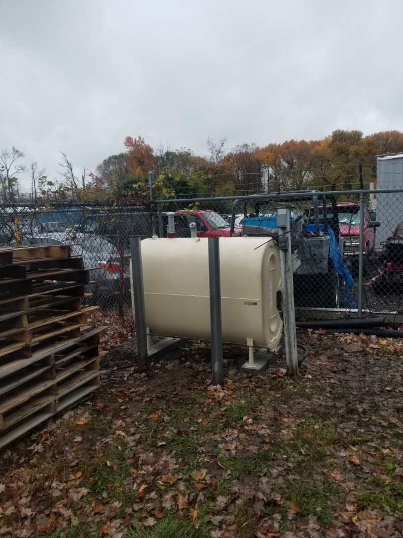 Bristol, PA - finished installing outdoor oil tank.