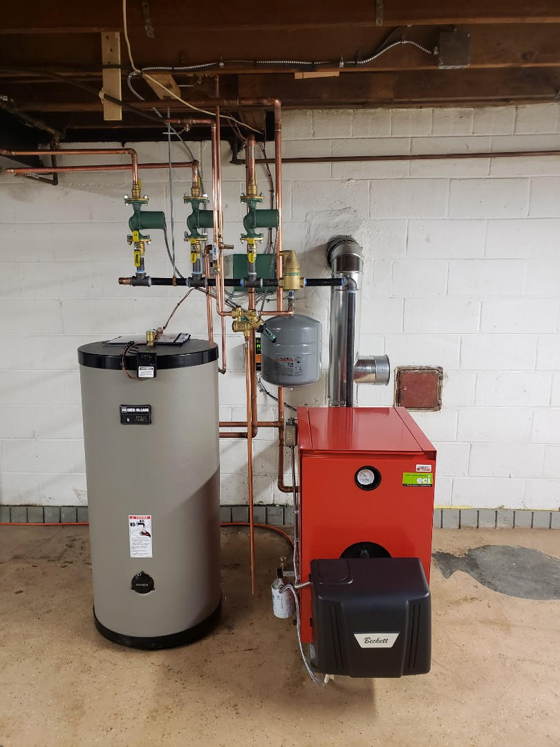 Hatboro, PA - Boiler with indirect water heater