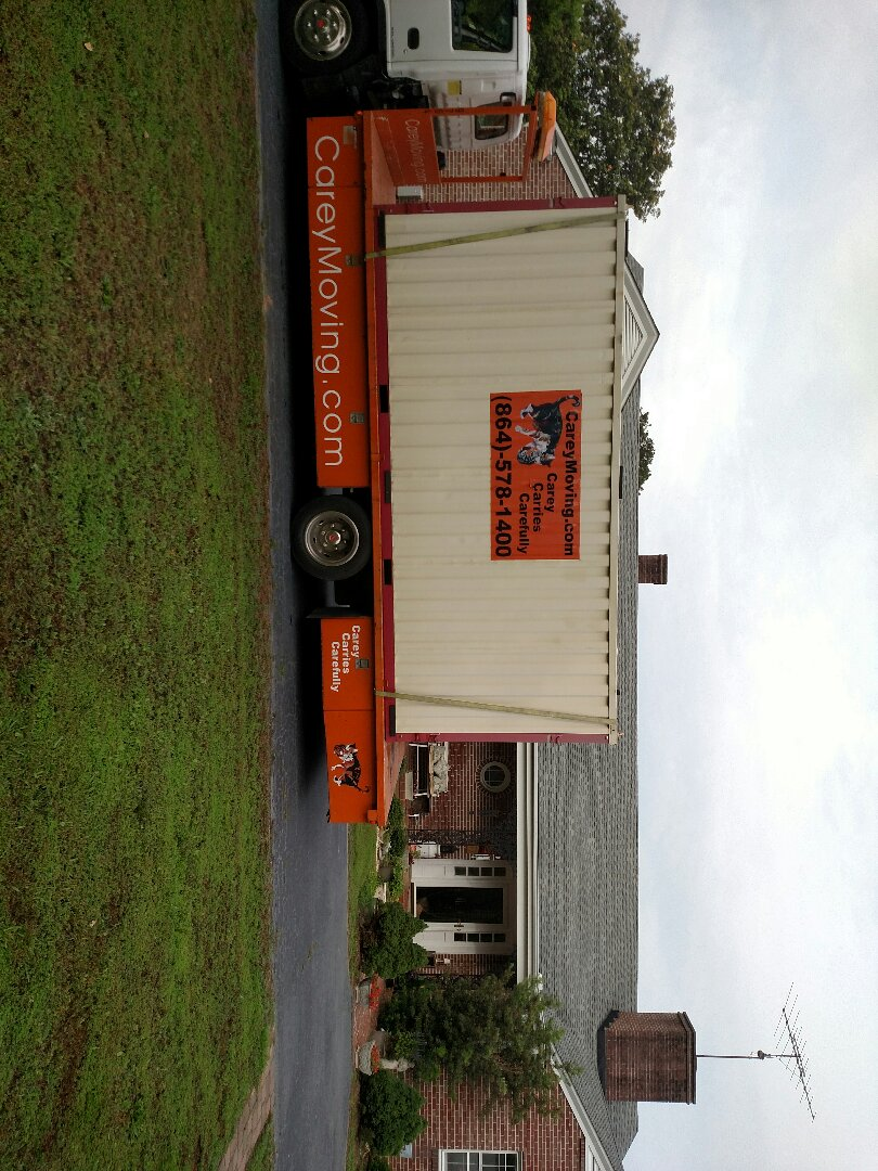 Delivery of storage container for Kirk&Joan mckeown