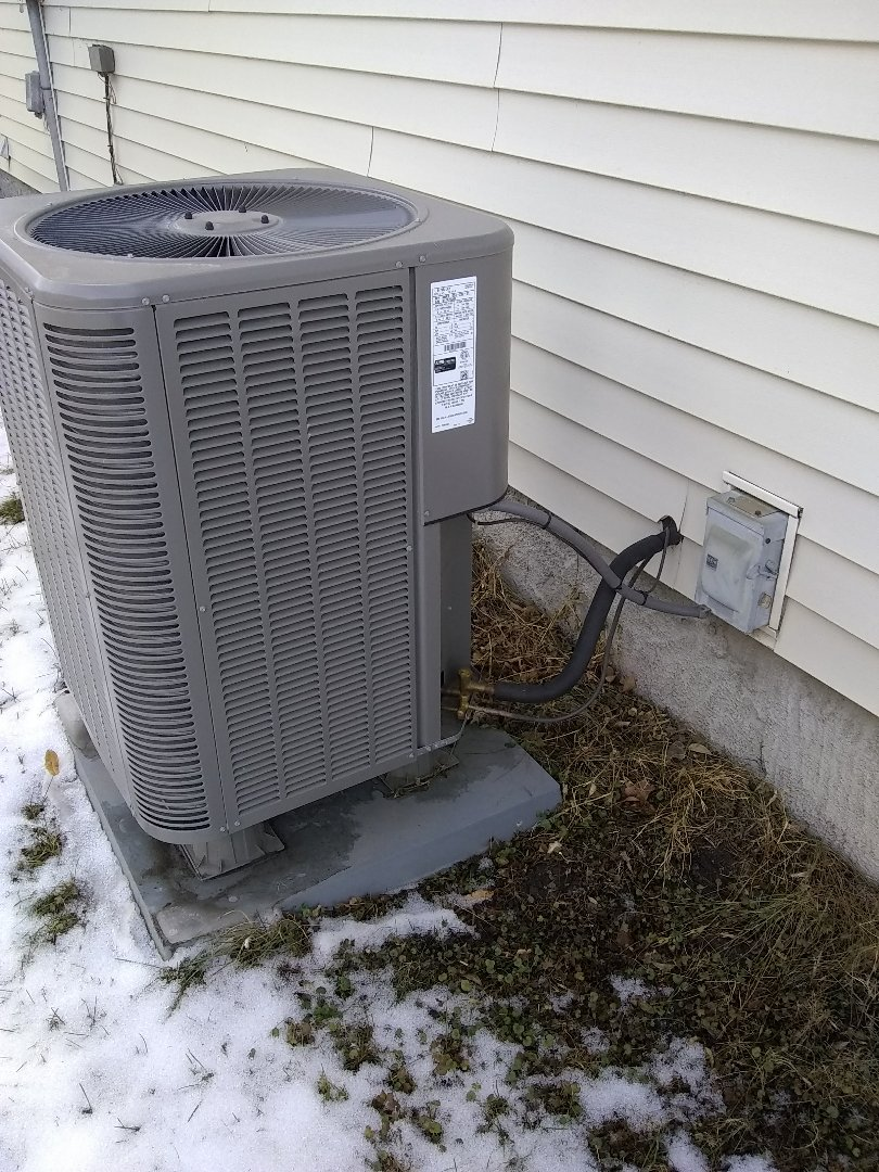 Duncan, NE - Check install. Heat pump not working properly