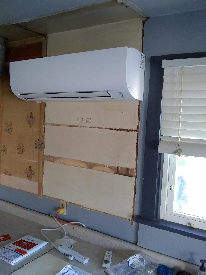 Creston, NE - Install new mini-split heat and air system