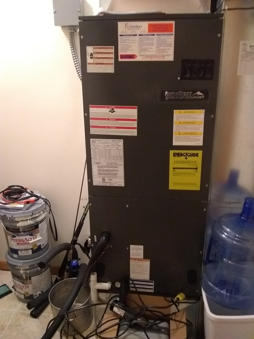 Morse Bluff, NE - Replaced burnt sequencer and installed filter