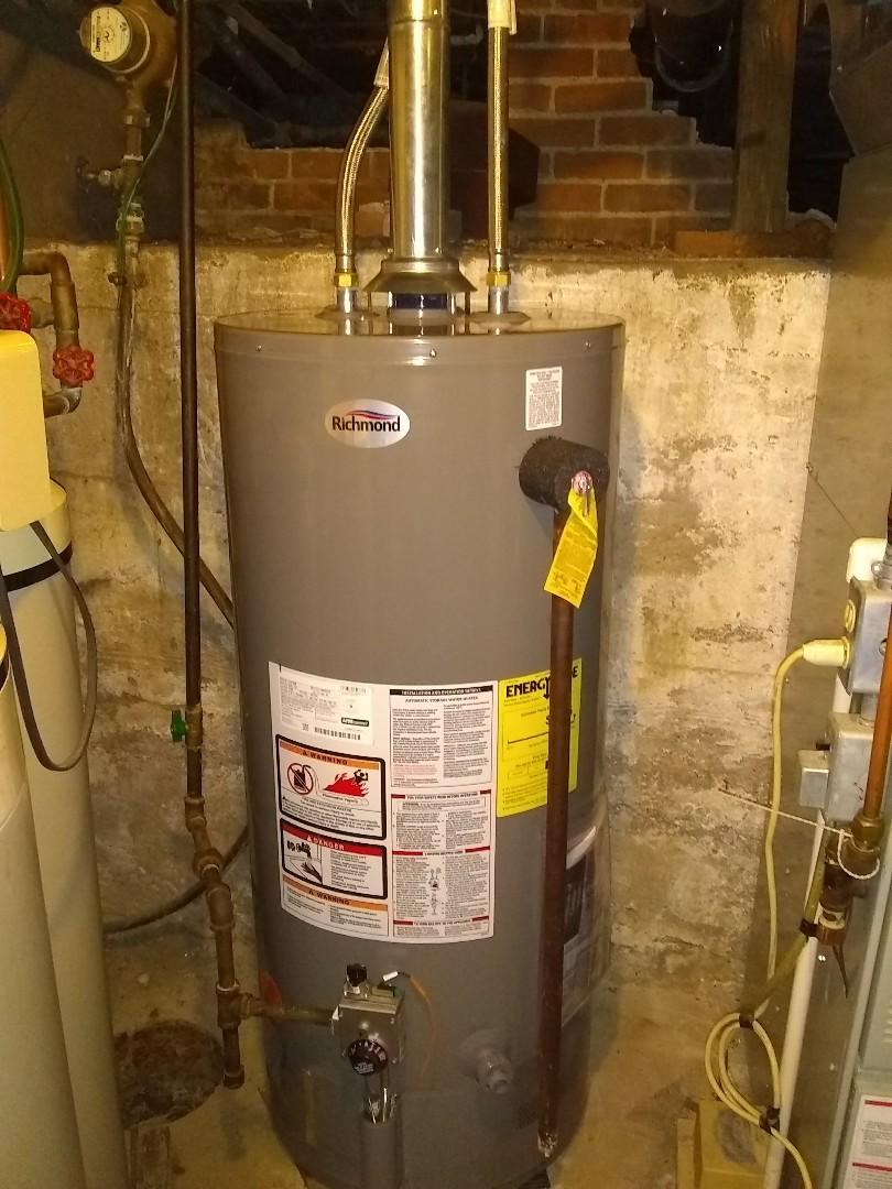 Genoa, NE - Install new water heater