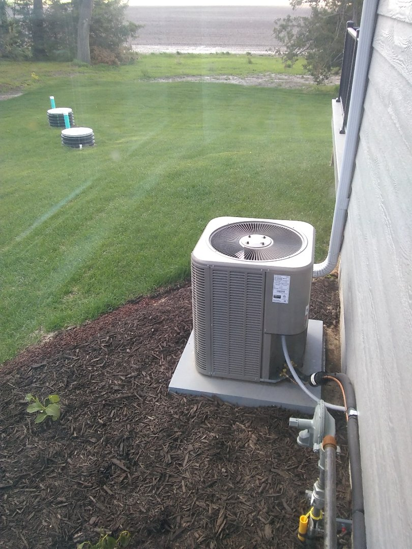 Rogers, NE - Initial start up on air conditioning system and adjust air flow