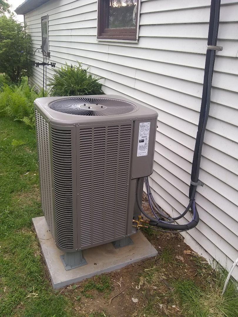 Platte Center, NE - Install new Lennox heat pump and furnace