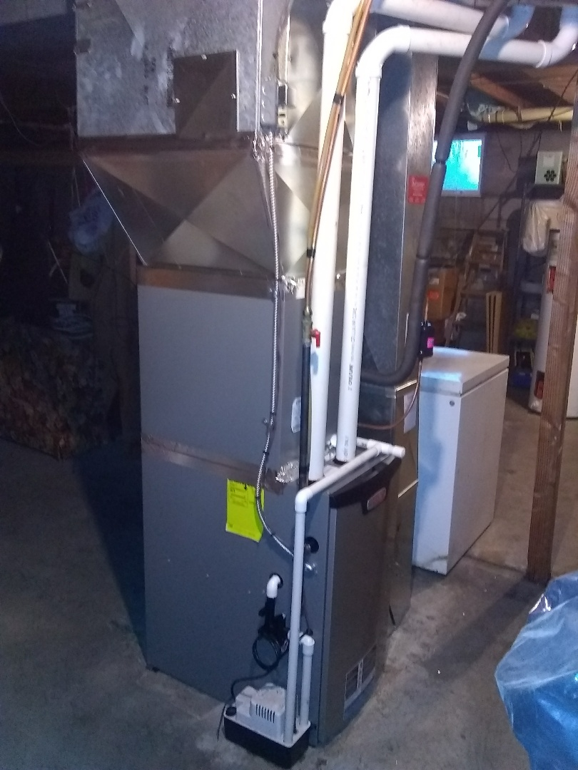 Install new Lennox furnace and Air conditioner