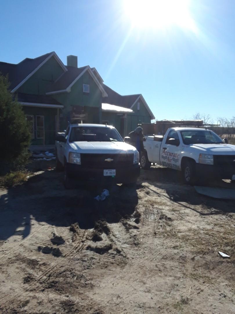 Royse City, TX - New construction site