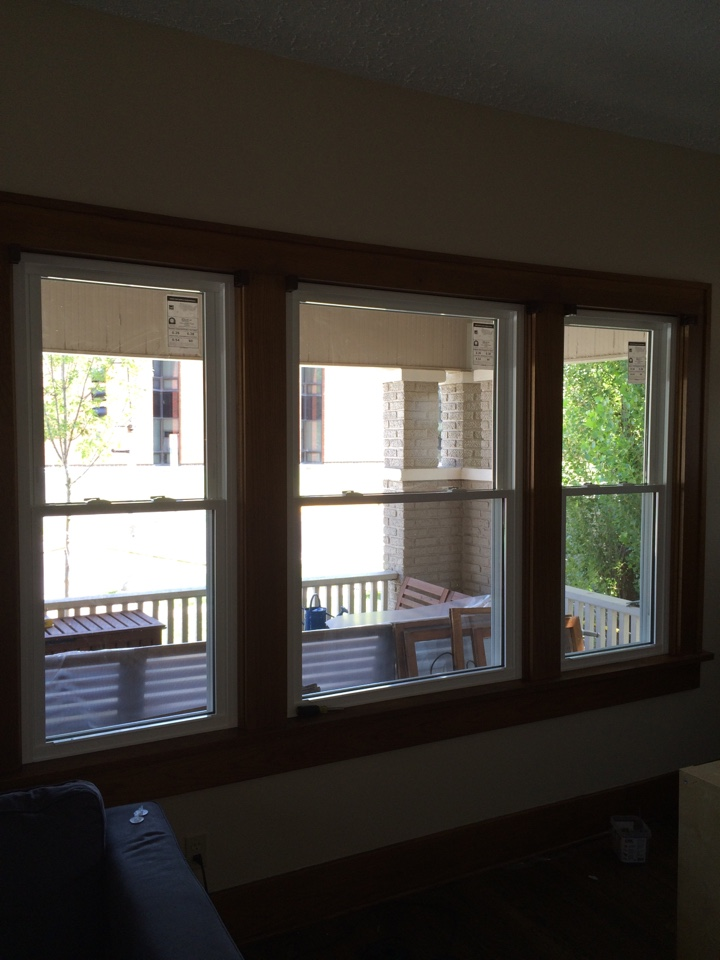Wichita, KS - New Soft Lite Windows in College Hill Wichita KS.