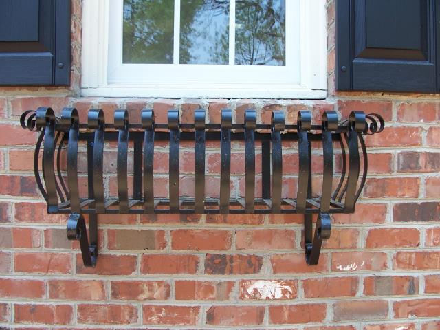 Cary, NC - Looking for custom iron window baskets?  Give us a call for a free estimate!