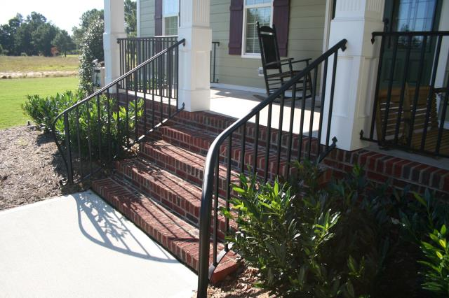 Pittsboro, NC - We already have plans for creating iron railings in Chatham Park!  Make sure your builder installs Cast Iron Elegance railings.  Our railings are built with high quality iron and are powder coated for a long lasting maintenance free finish!