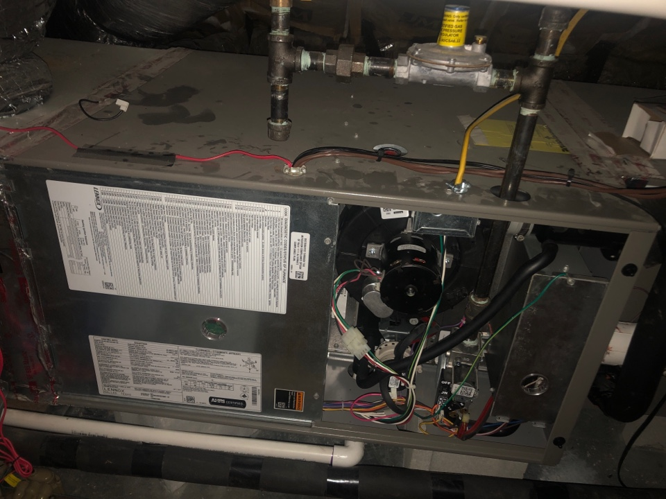 Greensboro, NC - Lennox 90% gas furnace and AC spring inspection