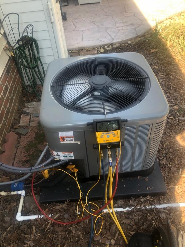 Kernersville, NC - Rheem straight AC 410a spring maintenance