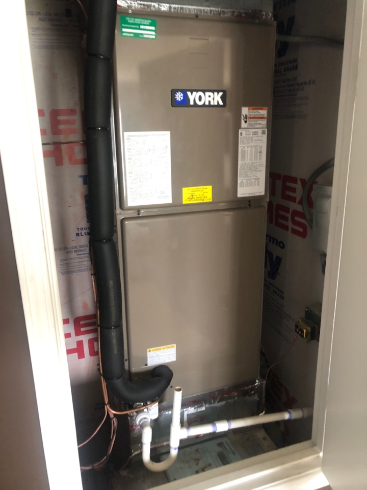 Kernersville, NC - York heat pump check up (spring). Another coolbreeze1250 install running great!