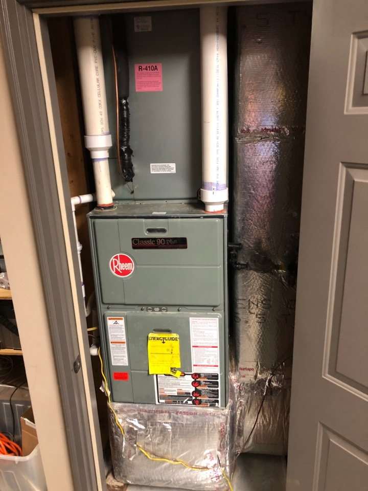 Summerfield, NC - Free Estimate to replace a 4.0 ton high efficiency gas furnace and AC