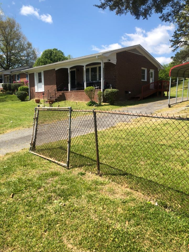 Thomasville, NC - Estimate to add ductwork and new heat pump to house with no prior heating or cooling system. Permit required.