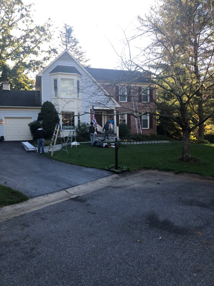 Gaithersburg, MD - Interior and exterior painting with some carpentry work in Montgomery Village, MD