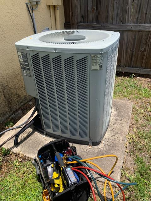 Port St. Lucie, FL - Installed a new residential 3 ton, 14 seer air conditioning system with a 10 year warranty.