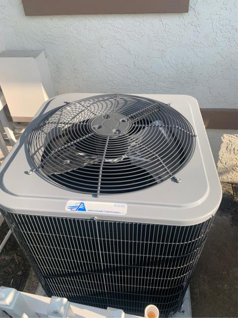 Port St. Lucie, FL - Installed new air conditioning system; 3.5 ton, 14 seer, Tempstar by Carrier.
