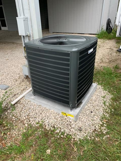 Port St. Lucie, FL - Installed new air conditioning system; 3.5 ton, 16 seer, Arnold's AC Private Label (Goodman Mfg.)