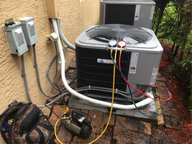 Palm City, FL - Installed new ac system; 3 ton, 16 seer Tempstar by Carrier.